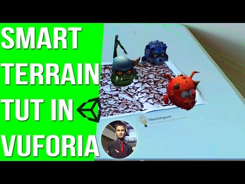 Vuforia SDK 3.0 with Smart Terrain feature and HD Camera View
