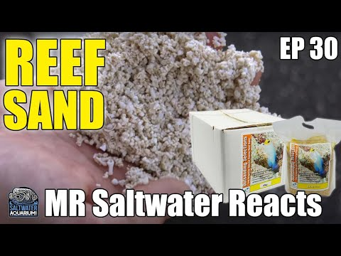 Two Little Fishies COARSE REEF SAND For Saltwater Aquariums - Mr Saltwater Reacts
