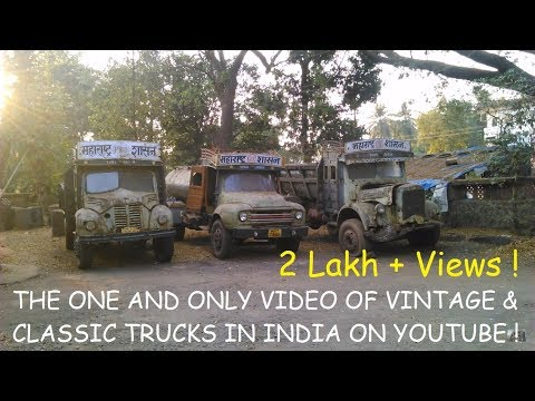 Abandoned & Neglected Vehicles In India #7 Classic Commercial Vehicles In India