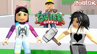 ROBLOX-BUILDING WITH LOTS OF FUN (Build Battle) | Luluca Games