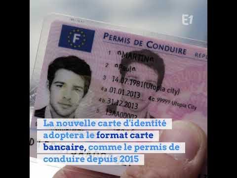 changer de carte d identité LA CARTE D'IDENTITÉ VA CHANGER DE FORMAT   YouTube