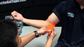 MuscleAidTape: Golfer's Elbow