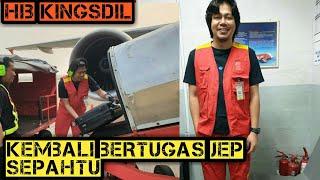 Jep Sephtu kembali ke tempat kerja asal-. Ramp Agent AirAsia