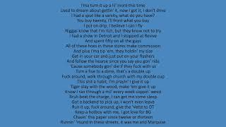 Lil Baby - We Paid ft. 42 Dugg (lyrics)
