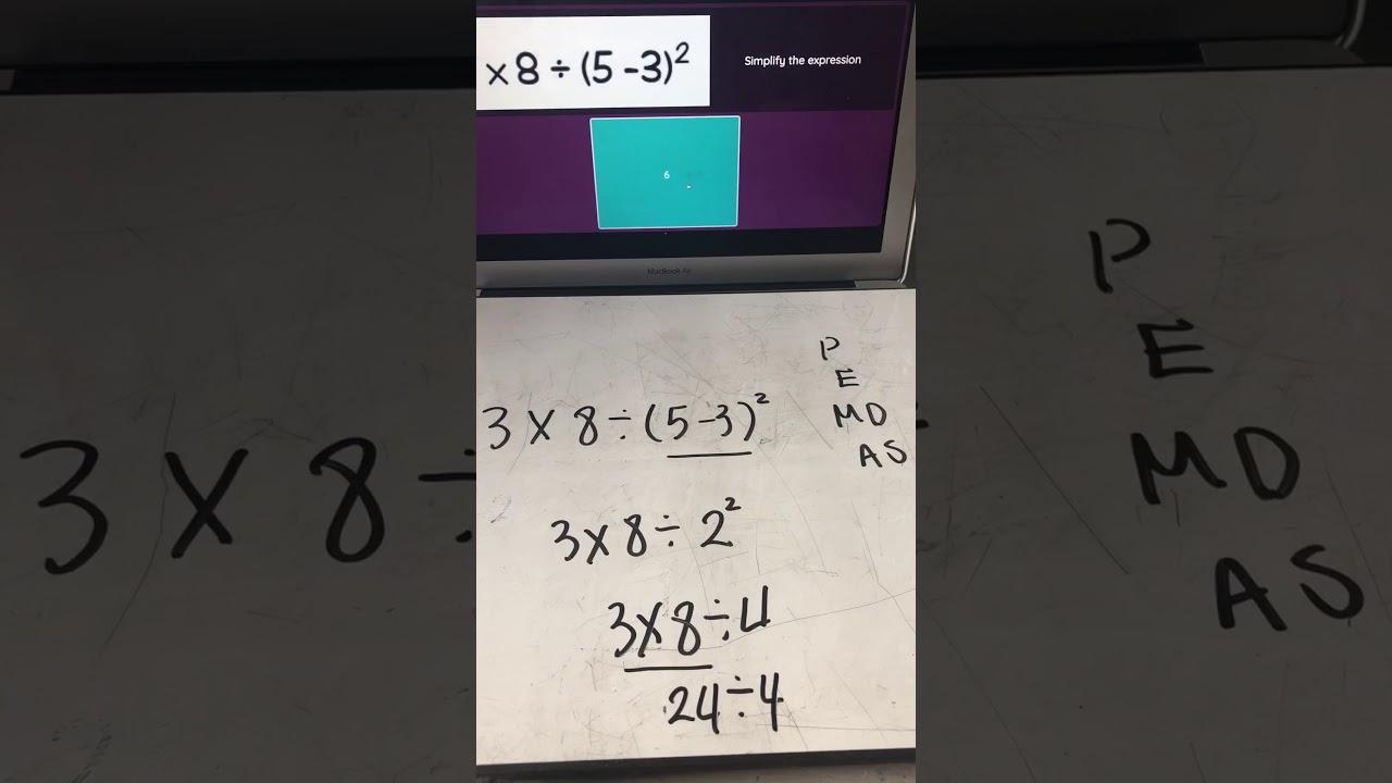 Answer key for quizizz pemdas - YouTube