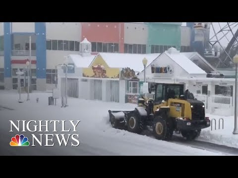 Snow Storm Wreaks Havoc Up And Down The East Coast | NBC Nightly News