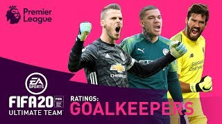 BEST Premier League Goalkeeper? | FIFA 20 | De Gea, Alisson, Ederson | AD
