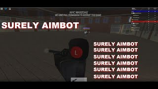 i don't use aimbot | New Haven County Warzone MONTAGE #1, ROBLOX