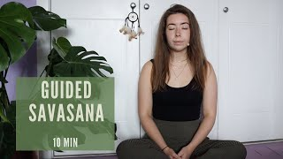 10 min Guided Savasana | Fearless Yoga