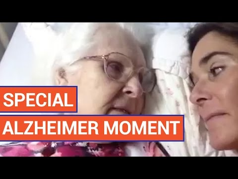 A Mom With Alzheimer's Recognizes Her Daughter | Daily Heart Beat