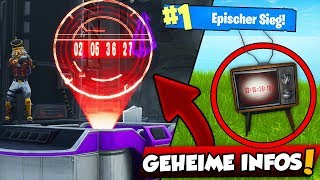 SECRET information about the RAKETE... What happens in Fortnite? with iCrimax