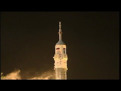 ISS - Expedition 42 - Soyuz Launch - HD