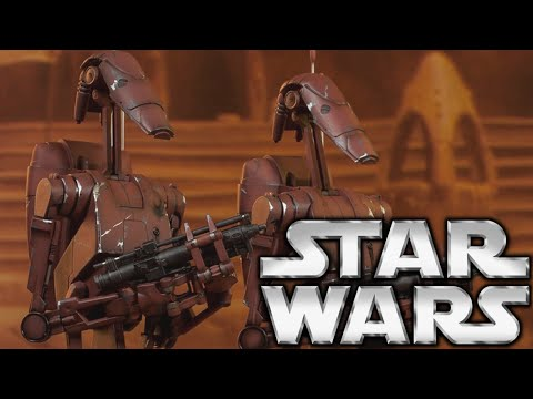 Why Geonosis Droids Were Camouflage: Star Wars Lore
