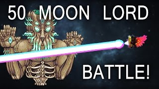 Killing 50 Moon Lords on Expert Mode! [Terraria 1.3]