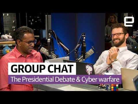 The presidential debate and cyber warfare