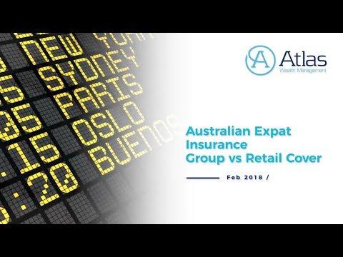 Australian Expat Insurance -  Group vs Retail Cover