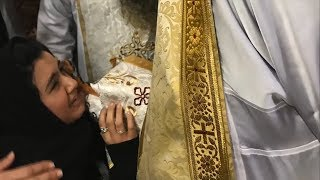 Sonia Tadros Funeral Prayers Completed