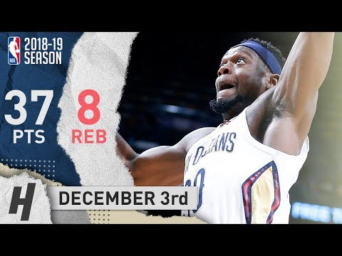 Julius Randle Full Highlights Pelicans vs Clippers 2018.12.03 - 37 Points, 8 Reb