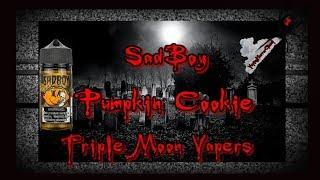SadBoy Pumpkin Cookie E-Liquid Review