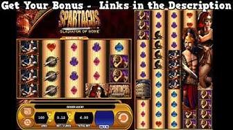Spartacus Slots Online - Free Slot Games - Best No Download USA Casinos