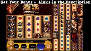 Video Spartacus Slots Online - Free Slot Games - Best No Download USA Casinos download MP3, 3GP, MP4, WEBM, AVI, FLV Juli 2018