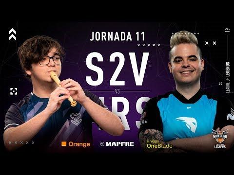 S2V ESPORTS VS MOVISTAR RIDERS | Superliga Orange League of Legends | Jornada 11 | 2019