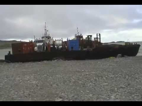 Land of the Midnight Sun: Sealift - A vital lifeline for Arctic Canada