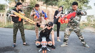 LTT Nerf War : Special task SEAL X attack Fight criminal group with nerf guns MEGA sniper 2