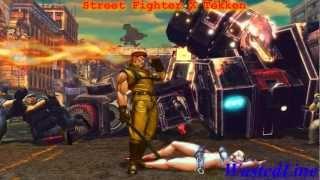 Street Fighter X Tekken - Gameplay PC from WastedLine