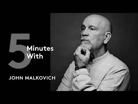 Five Minutes With..John Malkovich