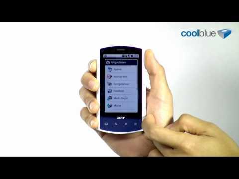 Acer Liquid A1 video review en unboxing (BE/NL)