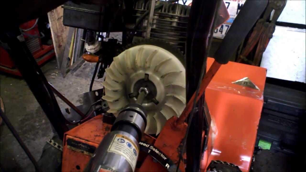 Tecumseh Points and Condenser 310hp replace  YouTube