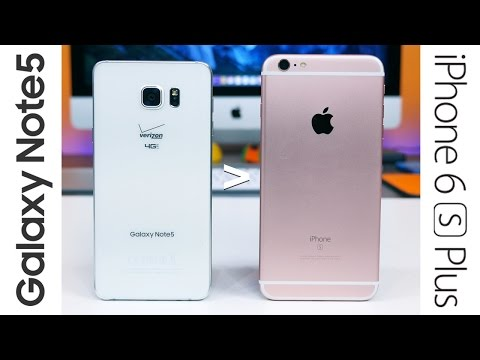 10 reasons why Galaxy Note 5 is better than iPhone 6s Plus