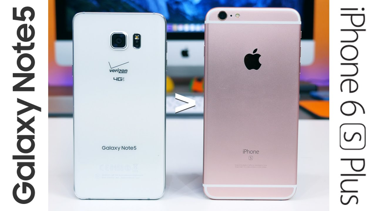 10 reasons why Galaxy Note 5 is better than iPhone 6s Plus ...