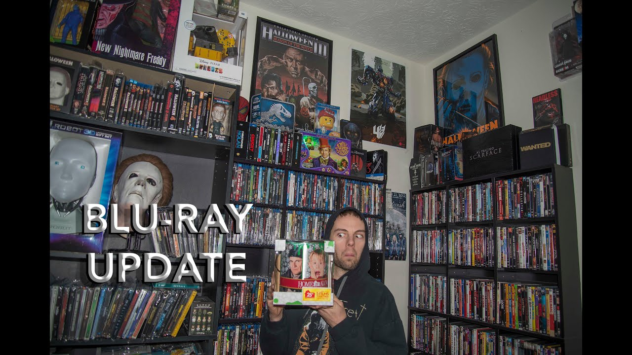 Blu-Ray Update & Home Alone 25th Anniversary Unboxing - YouTube
