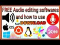 Free Editors Software Download  for Linux , Mac and Windows  and how to use
