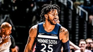 Derrick Rose 17 Off Bench! Wolves Win Game 3! 2018 NBA Playoffs
