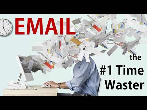 Master Your Emails: Email is the #1 Time Waster