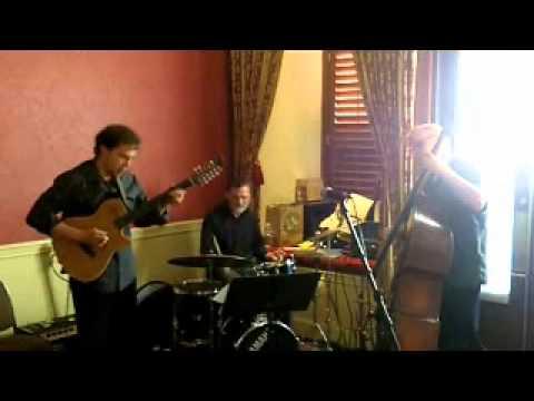 Matt Richards Power Trio - Mr. P.C. - Godin fretless guitar