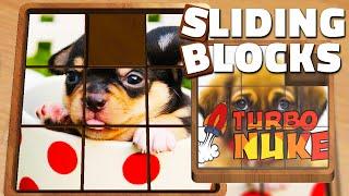 Sliding Blocks Puzzles: Cute puppies!