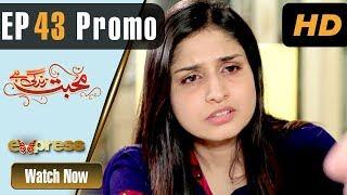 Pakistani Drama   Mohabbat Zindagi Hai - Episode 43 Promo   Express Entertainment Dramas   Madiha