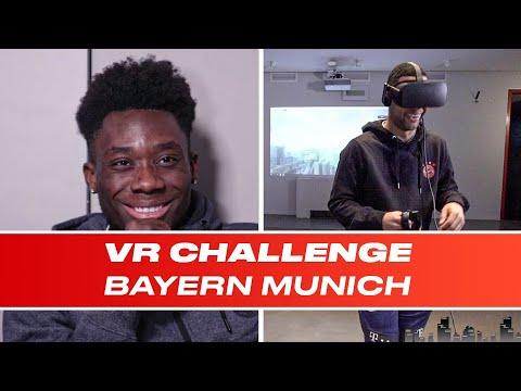Bayern Munich Stars Walk The Plank And Alphonso Davies' Struggle Is REAL   VR Challenge E03