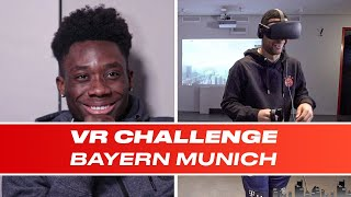 Bayern Munich Stars Walk The Plank And Alphonso Davies' Struggle Is REAL | VR Challenge E03