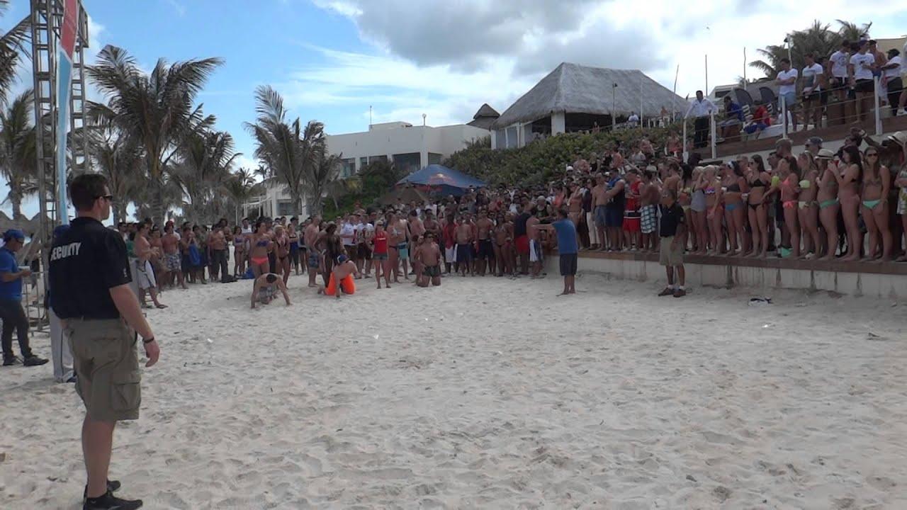 Spring Break Cancun 2013 Oasis Beach Party Youtube
