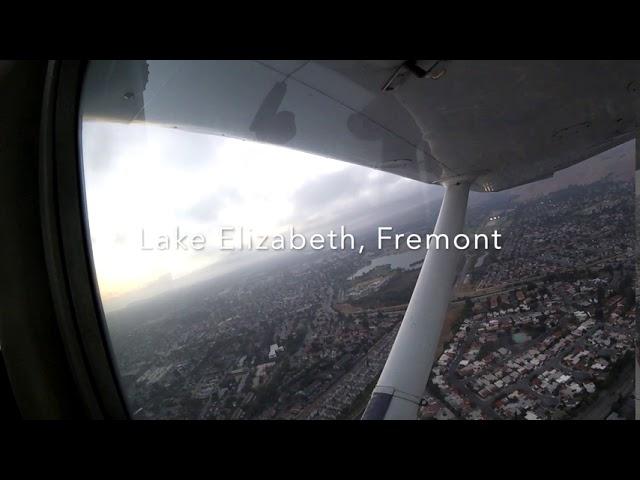 Livermore to Palo Alto in Small Plane (Cessna 152)