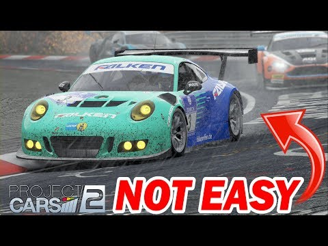 WHO SAYS GT3 CARS ARE EASY??? -- Project CARS 2 -- [GT3 in the Rain @ Nurburgring Nordschleife]