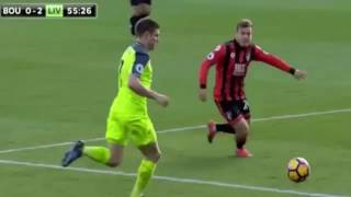 Liverpool vs Bournemouth 3-4 Extended Highlights Dec, 4/2016