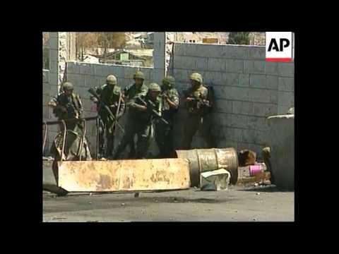 Hebron Clashes and first Palestinian workers allowed to cross  Erez Checkpoint