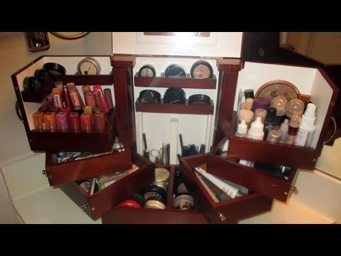 Makeup Storage How I Store My Personal Makeup With The