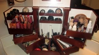 Makeup Storage!  How I Store My Personal Makeup with the Lori Greiner Deluxe Cosmetic Storage Box